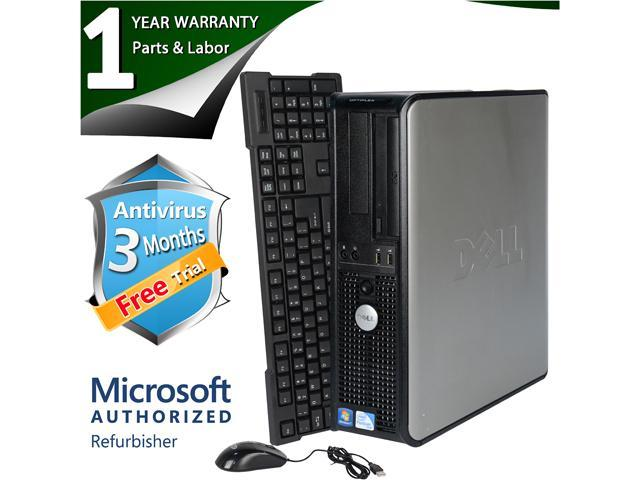 DELL Desktop Computer 360 Core 2 Duo E6550 (2.33 GHz) 2 GB DDR2 320 GB HDD Windows 7 Home Premium 64 Bit