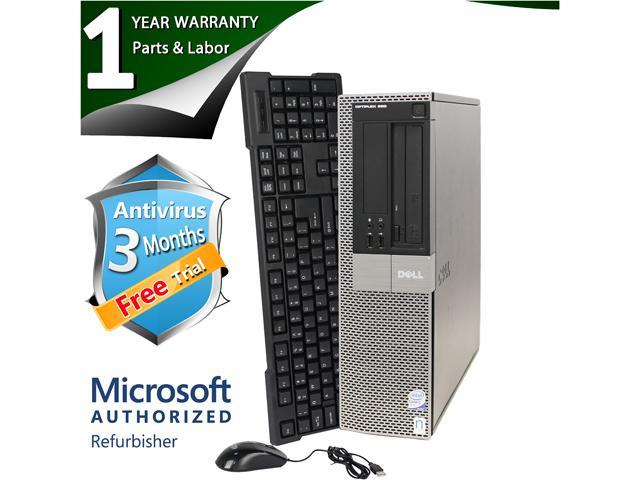 DELL Desktop Computer 960 Core 2 Duo E8400 (3.00 GHz) 4 GB DDR2 500 GB HDD Windows 7 Professional 64 bit