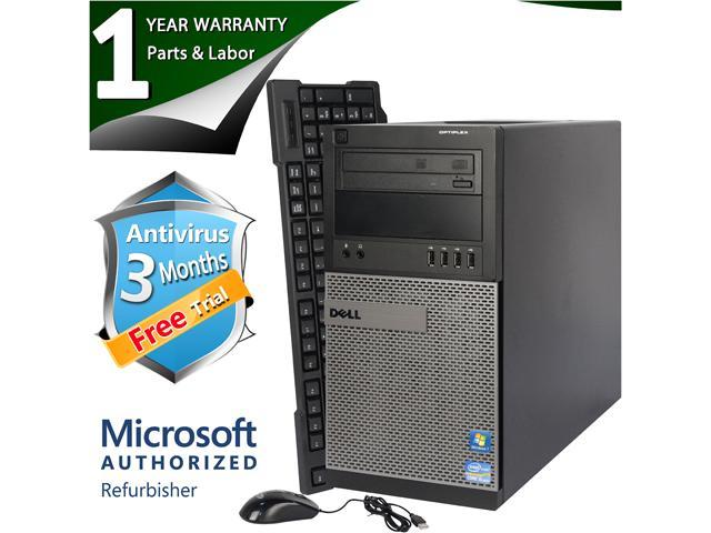 DELL Desktop Computer 790 Intel Core i5 2400 (3.10 GHz) 4 GB DDR3 250 GB HDD Windows 7 Professional 64 Bit