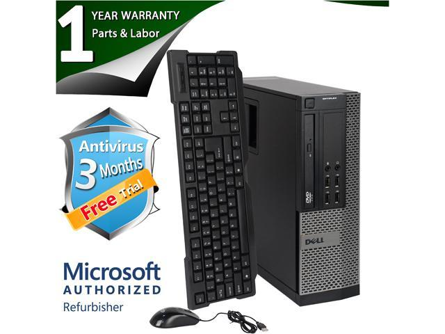 DELL Desktop Computer 790 Intel Core i5 2400 (3.10 GHz) 4 GB DDR3 250 GB HDD Windows 7 Professional 64 bit