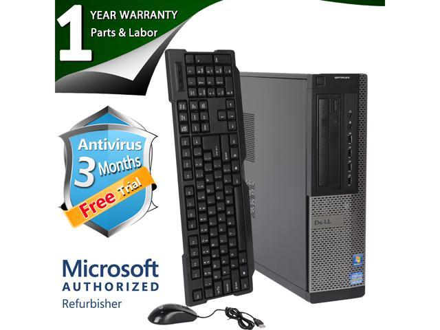 DELL Desktop Computer 990 Intel Core i5 2400 (3.10 GHz) 8 GB DDR3 1 TB HDD Windows 7 Professional 64-Bit
