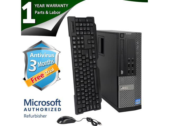 DELL Desktop Computer 7010 Intel Core i5 3rd Gen 3450 (3.10 GHz) 8 GB DDR3 2 TB HDD Windows 7 Professional 64-Bit