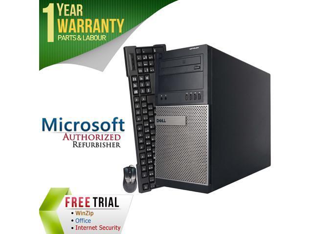 DELL Desktop Computer 790 Intel Core i3 2100 (3.10 GHz) 4 GB DDR3 250 GB HDD Windows 7 Professional 64-Bit