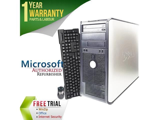 DELL Desktop Computer 330 Pentium Dual Core E2200 (2.20 GHz) 2 GB DDR2 80 GB HDD Windows 7 Home Premium 64-Bit