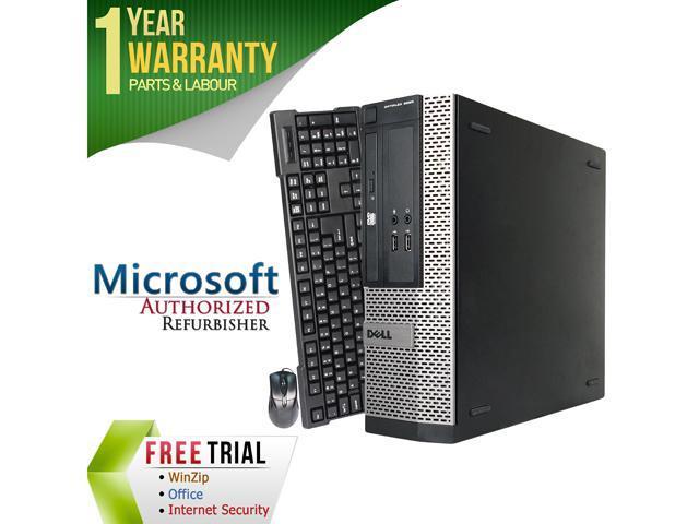 DELL Desktop Computer 3020 Intel Core i5 4570 (3.20 GHz) 8 GB DDR3 2 TB HDD Intel HD Graphics 4600 Windows 7 Professional 64-Bit