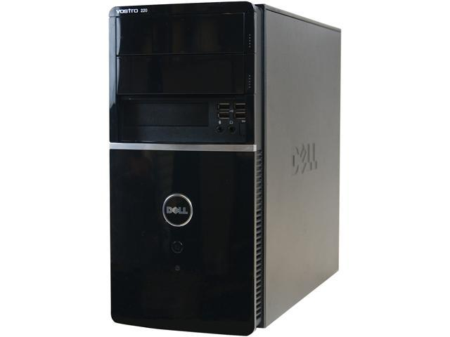 DELL Desktop Computer 220 Core 2 Duo 3.0 GHz 2 GB 500 GB HDD Windows 7 Professional 64-Bit