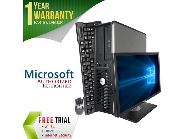 DELL Desktop Computer GX780 + 22