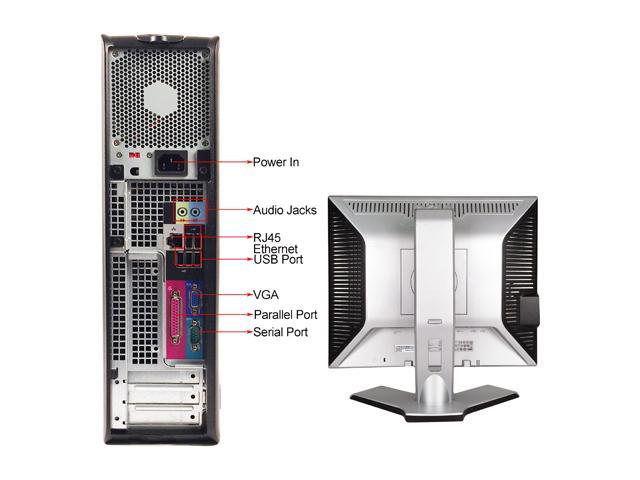 DELL Desktop Computer GX755 + 19