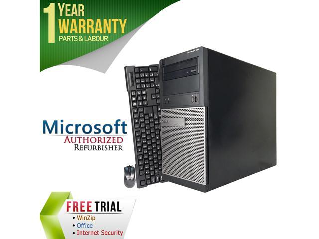 DELL Desktop Computer 390 Intel Core i5 2400 (3.10 GHz) 4 GB DDR3 500 GB HDD Windows 7 Professional 64-Bit