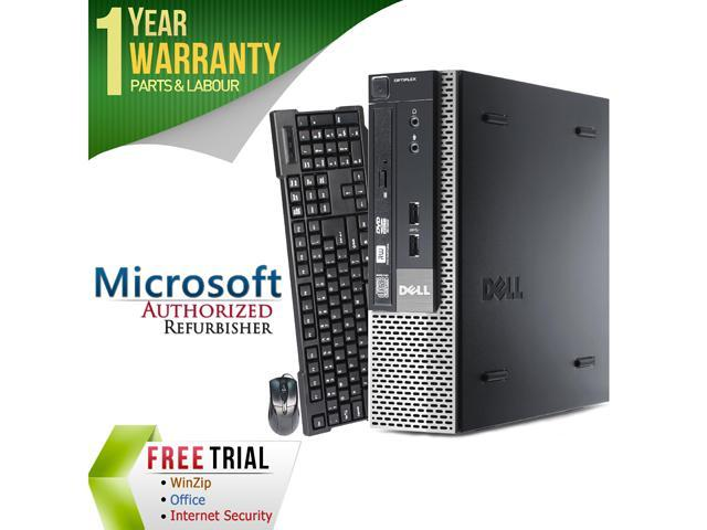 DELL Desktop Computer 7010 Intel Core i5 3rd Gen 3470s (2.90 GHz) 4 GB DDR3 500 GB HDD Windows 7 Professional 64-Bit