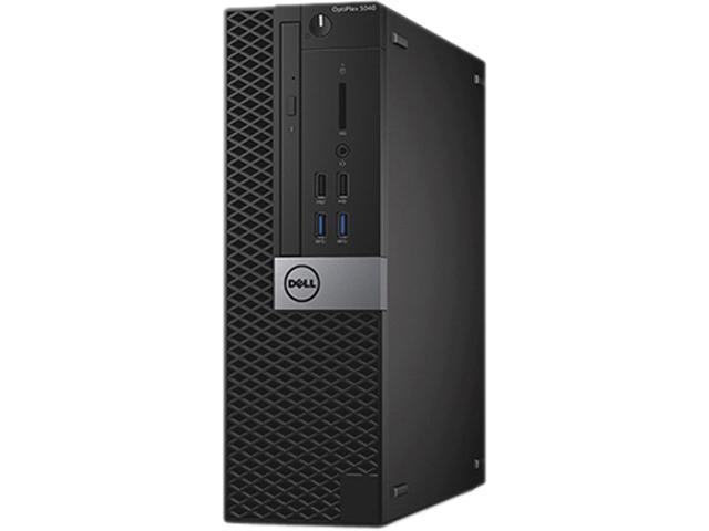 DELL Desktop Computer OptiPlex 5040 (CP0GM) Intel Core i5 6th Gen 6500 (3.20 GHz) 8 GB DDR3L 500 GB HDD AMD Radeon R5 340X 2 GB Windows 7 Professional (Includes Windows 10 Pro License)