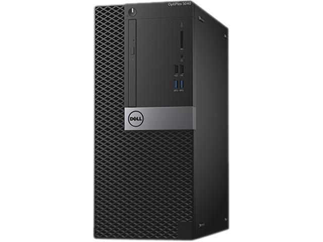 DELL Desktop Computer OptiPlex 7040 (CMR0C) Intel Core i7 6th Gen 6700 (3.4 GHz) 8 GB DDR4 500 GB HDD AMD Radeon R5 340X 2 GB Windows 7 Professional (Includes Windows 10 Pro License)