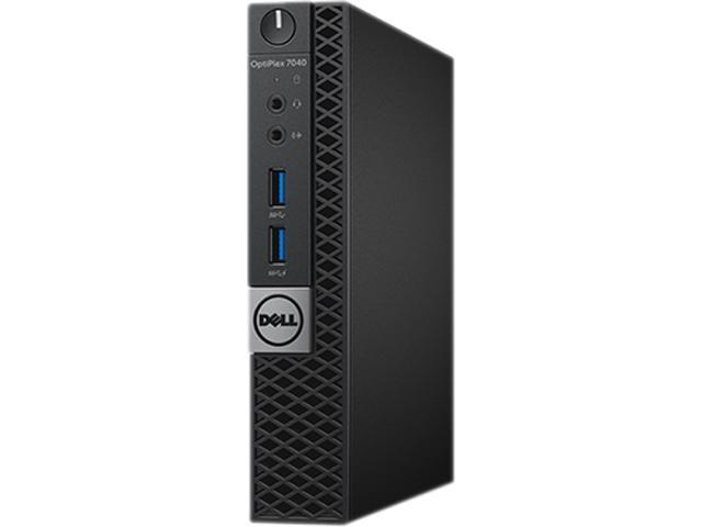 DELL Desktop Computer OptiPlex 7040 (8HX58) Intel Core i7 6th Gen 6700T (2.80 GHz) 8 GB DDR4 500 GB HDD Intel HD Graphics 530 Windows 7 Professional 64-bit (Includes Windows 10 Pro License)