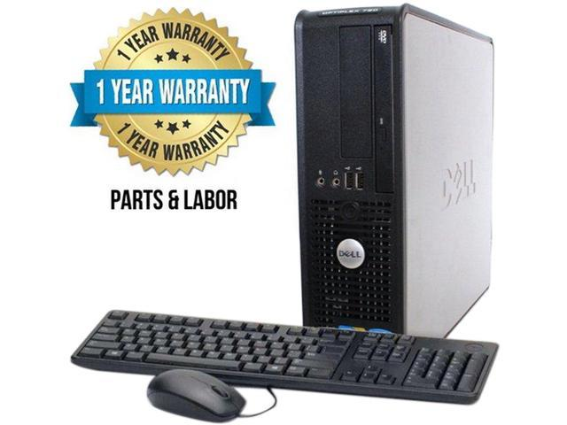 DELL Desktop Computer 780 Core 2 Duo 3.0 GHz 4 GB DDR3 250 GB HDD Windows 7 Professional