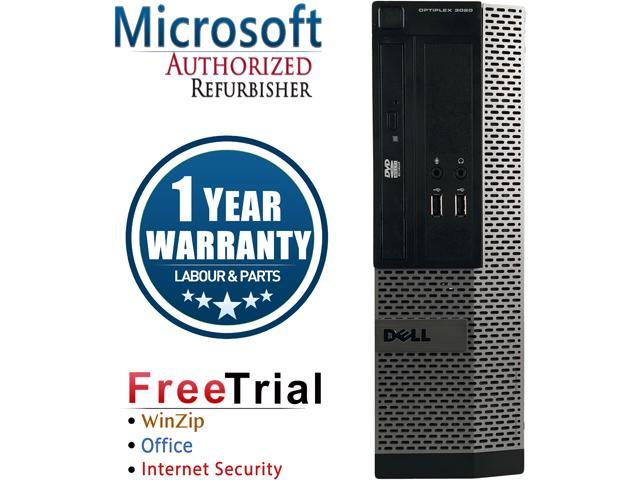 DELL Desktop Computer OptiPlex 3020 Intel Core i5 4570 (3.20 GHz) 8 GB DDR3 1 TB HDD Intel HD Graphics 4600 Windows 10 Pro
