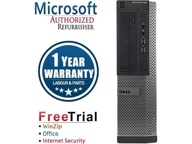DELL Desktop Computer OptiPlex GX390 Intel Core i5 2400 (3.10 GHz) 8 GB DDR3 320 GB HDD Intel HD Graphics 2000 Windows 10 Pro