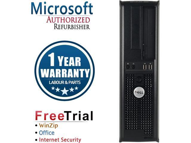 DELL Desktop Computer OptiPlex 580 Athlon II X2 B22 (2.80 GHz) 4 GB DDR3 160 GB HDD ATI Radeon HD 4200 Windows 10 Pro