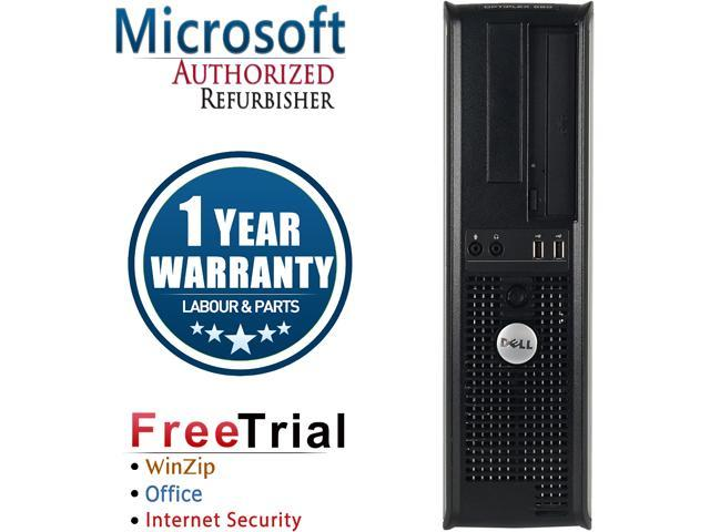 DELL Desktop Computer OptiPlex 580 Athlon II X2 B22 (2.80 GHz) 4 GB DDR3 320 GB HDD ATI Radeon HD 4200 Windows 10 Pro
