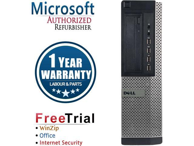 DELL Desktop Computer OptiPlex 7010 Intel Core i5 3rd Gen 3450 (3.10 GHz) 8 GB DDR3 2 TB HDD Intel HD Graphics 2500 Windows 10 Pro