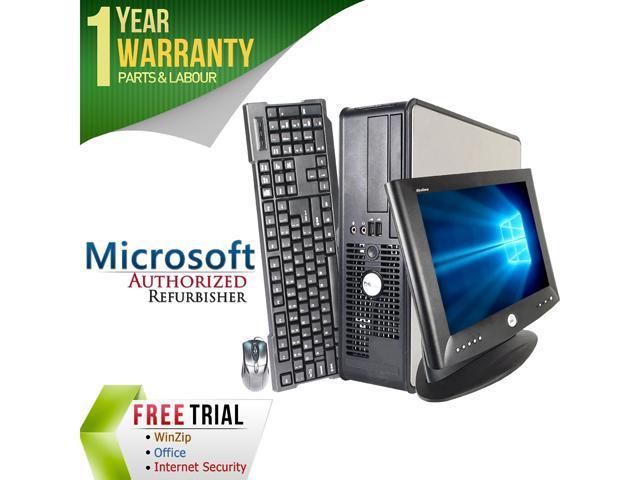 DELL Desktop Computer OptiPlex GX755 + 17