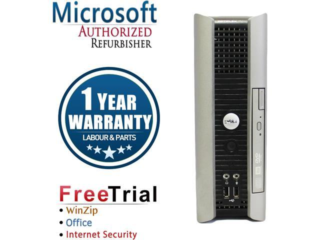 DELL Desktop Computer OptiPlex GX755 Core 2 Duo E7400 (2.80 GHz) 4 GB DDR2 160 GB HDD Intel HD Graphics Windows 10 Home