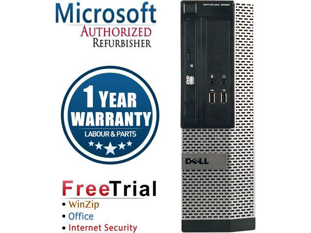 DELL Desktop Computer OptiPlex 390 Intel Core i3 2100 (3.10 GHz) 4 GB DDR3 500 GB HDD Intel HD Graphics 2000 Windows 10 Pro