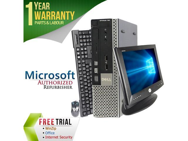 DELL Desktop Computer OptiPlex GX780-USFF + 17