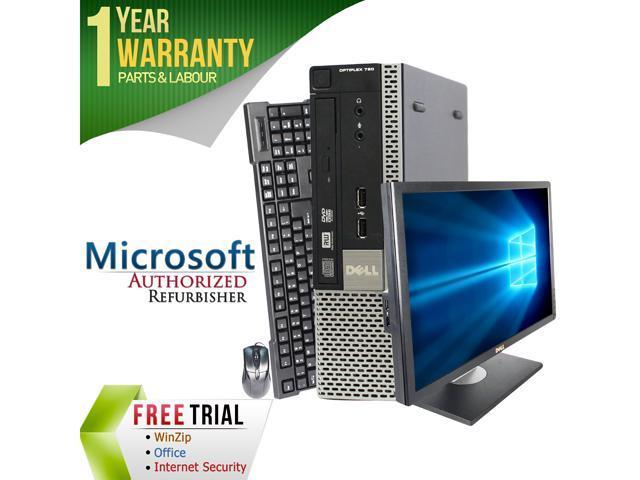 DELL Desktop Computer OptiPlex GX780-USFF + 22