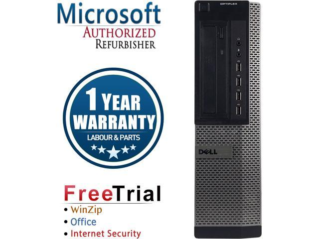 DELL Desktop Computer OptiPlex GX790-Desktop Intel Core i3 2100 (3.10 GHz) 4 GB DDR3 1 TB HDD Intel HD Graphics 2000 Windows 10 Pro
