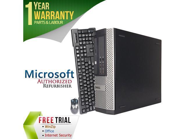 DELL Desktop Computer OptiPlex 9010 16VFDEDT0528 Intel Core i5 3rd Gen 3450 (3.10 GHz) 16 GB DDR3 320 GB HDD Intel HD Graphics 2500 Windows 10 Pro