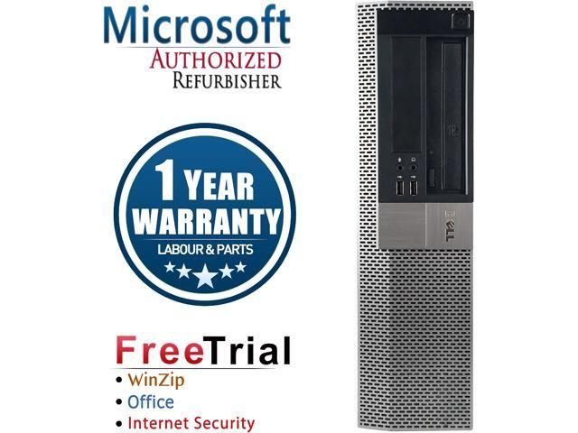 DELL Desktop Computer OptiPlex GX960-Desktop Core 2 Quad Q8200 (2.33 GHz) 4 GB DDR2 1 TB HDD Intel HD Graphics Windows 10 Pro