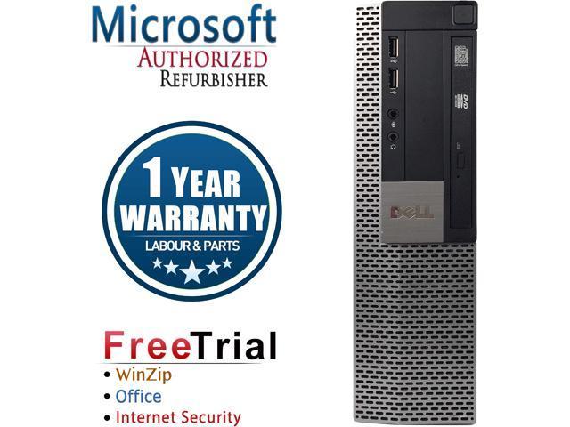DELL Desktop Computer OptiPlex GX960-SFF Core 2 Quad Q6600 (2.40 GHz) 4 GB DDR2 1 TB HDD Intel HD Graphics Windows 10 Pro