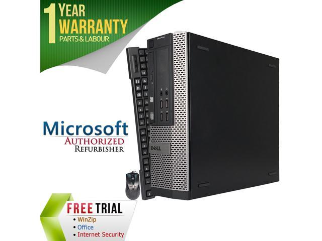 DELL Desktop Computer OptiPlex GX990-SFF Intel Core i3 2100 (3.10 GHz) 8 GB DDR3 1 TB HDD Intel HD Graphics 2000 Windows 10 Pro