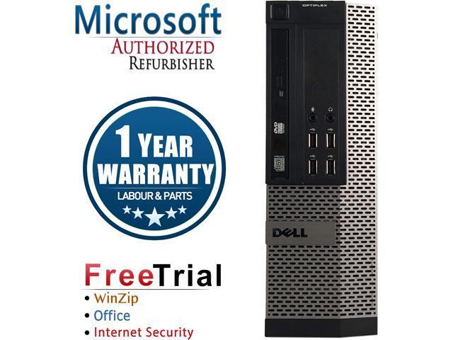 DELL Desktop Computer OptiPlex GX990-SFF Intel Core i5 2400 (3.10 GHz) 4 GB DDR3 250 GB HDD Intel HD Graphics 2000 Windows 10 Pro