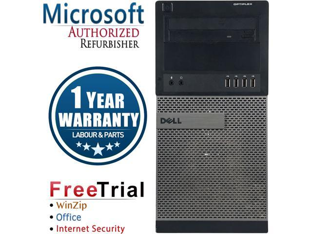 DELL Desktop Computer OptiPlex GX990-Tower Intel Core i5 2400 (3.10 GHz) 4 GB DDR3 250 GB HDD Intel HD Graphics 2000 Windows 10 Pro