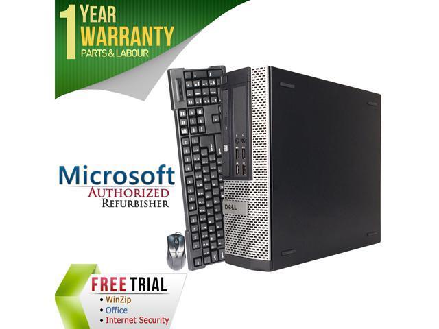 Refurbished Dell OptiPlex 7010 Small form factor Intel Core I3 3220 3.3G / 8G DDR3 / 320G / DVD / Windows 7 Professional 64 Bit