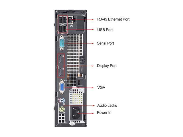 Refurbished Dell OptiPlex 7010 Ultra Small Intel Core I3 3220 3.3G / 4G DDR3 / 500G / DVD / Windows 7 Professional 64 Bit / 1 Year Warranty