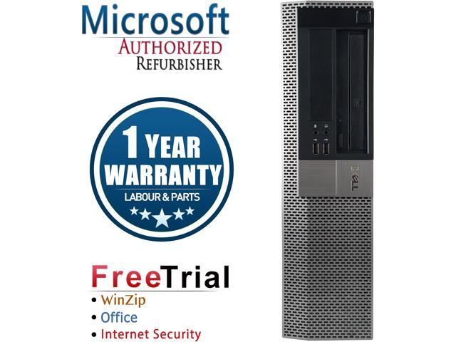 DELL Desktop Computer OptiPlex 980-SFF Intel Core i5 1st Gen 650 (3.20 GHz) 4 GB DDR3 1 TB HDD Intel HD Graphics Windows 7 Professional