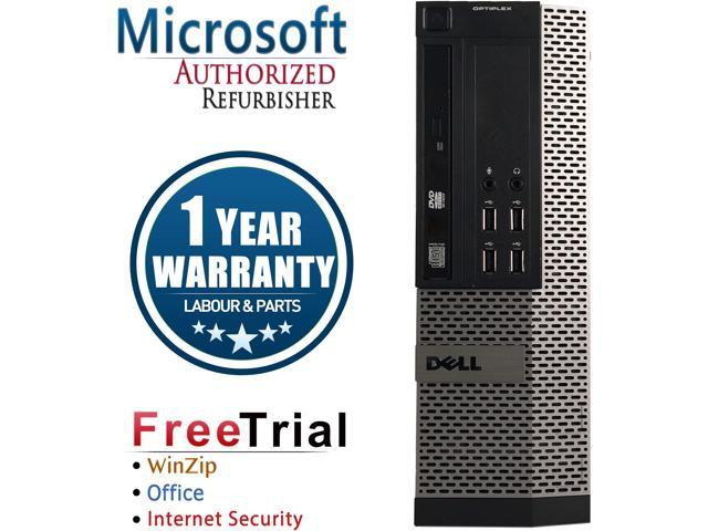 Refurbished Dell OptiPlex 990 SFF Intel Core I5 2400 3.1G / 16G DDR3 / 2TB / DVD / Windows 7 Professional 64 Bit / 1 Year Warranty