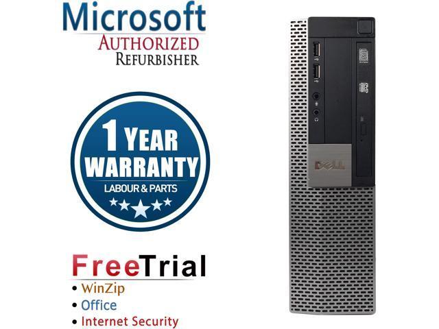 Refurbished Dell OPTIPLEX 980 Desktop Intel Core I5 650 3.2G / 4G DDR3 / 2TB / DVD /  Windows 10 Professional/ 1 Year Warranty