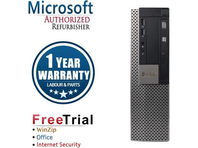 Refurbished Dell OPTIPLEX 980 Desktop Intel Core I5 650 3.2G / 8G DDR3 / 1TB / DVD /  Windows 10 Professional / 1 Year Warranty
