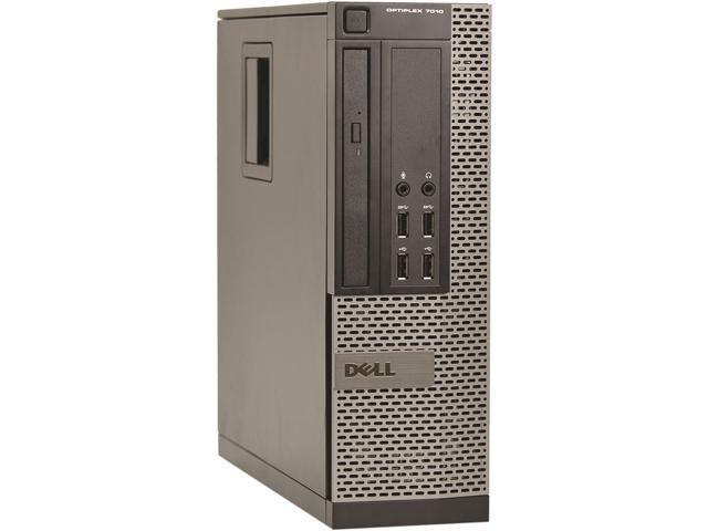 DELL Desktop Computer 7010 Intel Core i5 3rd Gen 3470 (3.20 GHz) 4 GB 250 GB HDD Windows 10 Pro 64-Bit