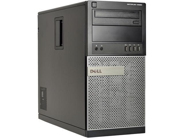 DELL Desktop Computer 9020 Intel Core i7 4th Gen 4770 (3.40 GHz) 8 GB 2 TB HDD Windows 10 Pro 64-Bit