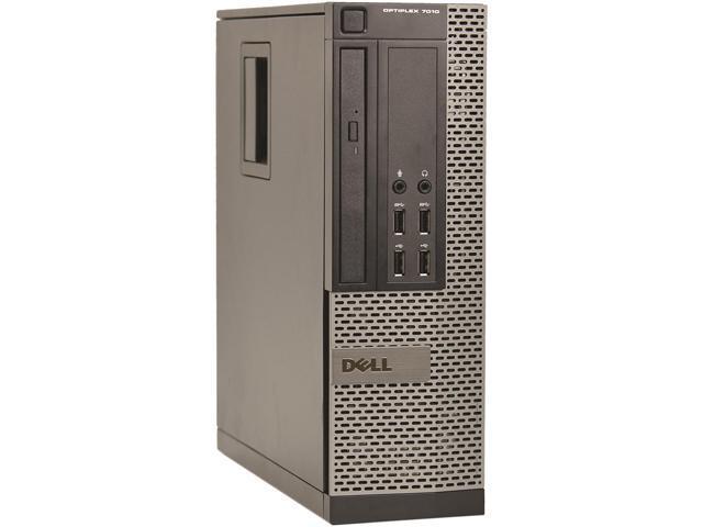 DELL Desktop Computer 7010 Intel Core i7 3rd Gen 3770s (3.10 GHz) 8 GB 2 TB HDD Windows 10 Pro 64-Bit