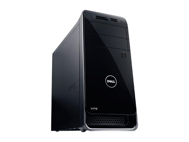 DELL Desktop Computer XPS 8900 x8900-2508BLK Intel Core i7 6th Gen 6700 (3.40 GHz) 16 GB DDR4 1 TB HDD NVIDIA GeForce GT 730 Windows 10 Home 64-Bit