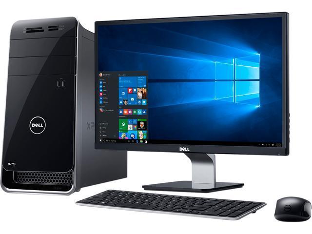 DELL Desktop Computer XPS 8900 x8900-2508BLK Intel Core i7 6th Gen 6700 (3.4 GHz) 16 GB DDR4 1 TB HDD NVIDIA GeForce GT 730 Windows 10 Home 64-Bit