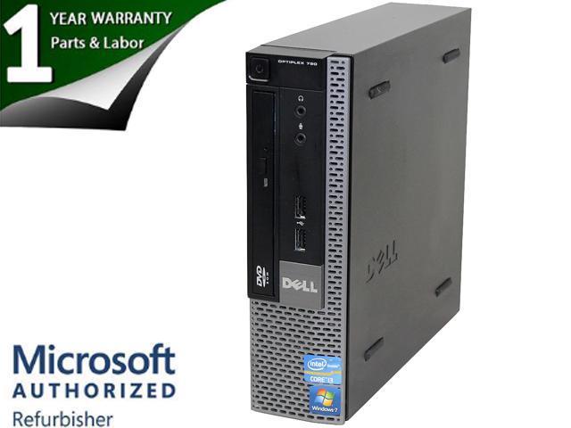 DELL Desktop PC OptiPlex 790 Intel Core i3 2nd Gen 2100 (3.10 GHz) 4 GB DDR3 500 GB HDD Windows 7 Professional 64-Bit