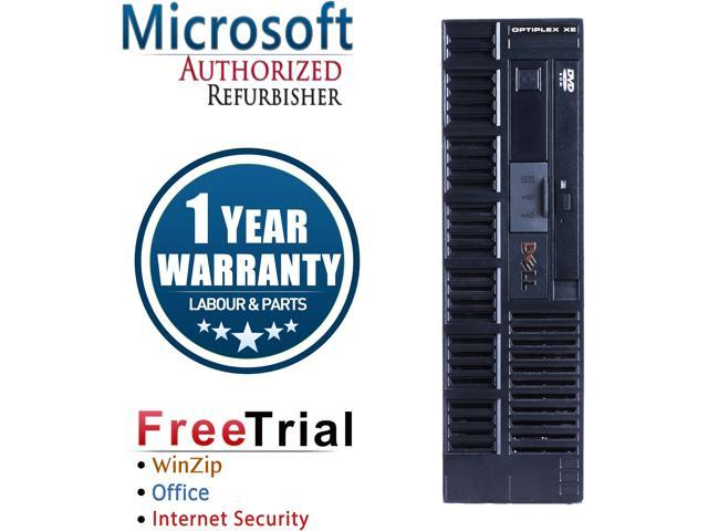 Refurbished Dell Optiplex XE SFF (POS) Intel Core 2 Duo E7400 2.8G / 4G DDR3 / 500G / DVD / Windows 10 Professional 64 Bits / 1 Year Warranty