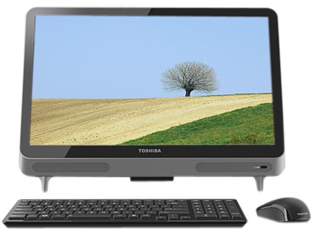 """Toshiba Desktop PC LX835-D3203 Intel Core i3 2370M (2.40 GHz) 6GB 1 TB HDD 23"""" Windows 7 Home Premium 64-bit"""