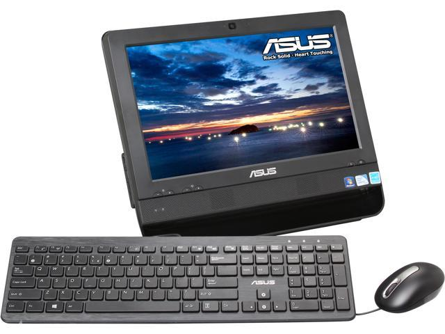 """ASUS All-in-One PC ET1612IUTS-B007C Celeron 847 (1.10 GHz) 2 GB DDR3 320 GB HDD 15.6"""" Touchscreen Windows 7 Home Premium ..."""